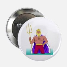 "King Neptune 2.25"" Button (10 pack)"