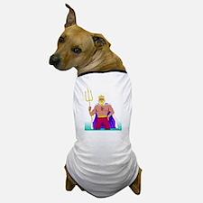 King Neptune Dog T-Shirt