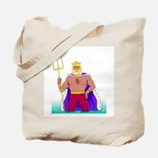 King Neptune Tote Bag