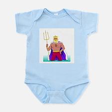 King Neptune Infant Bodysuit