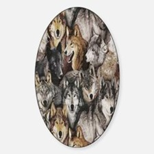 wolves Decal
