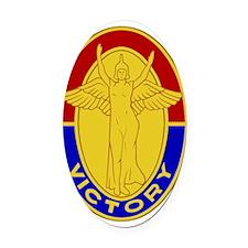 1st Infantry Division - DUI Oval Car Magnet