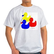 primary ducks pngSET 10x10 T-Shirt