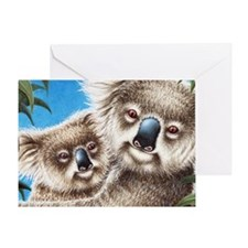 Koala  Baby (Coin Purse) 2 Greeting Card