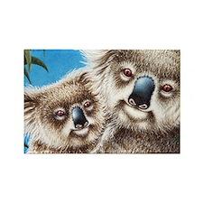 Koala  Baby (Coin Purse) 2 Rectangle Magnet