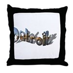 NOTHING LIKE DETROIT Throw Pillow