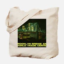 Brooklyn-Bridge-World-Trade-Center-12b10 Tote Bag