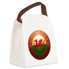 welsh shield. Canvas Lunch Bag