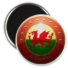 welsh shield. Magnet