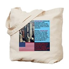 World-Trade-Center-Twin-Towers-PARK-Poste Tote Bag