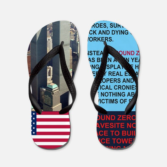 World-Trade-Center-Twin-Towers-PARK-Pos Flip Flops