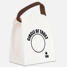 circleOfTrust1 Canvas Lunch Bag