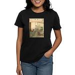 Japanese illustration Women's Dark T-Shirt