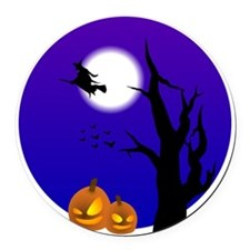 halloween2 Round Car Magnet