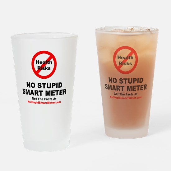 NoStupidSmartMeter-3DONE Drinking Glass