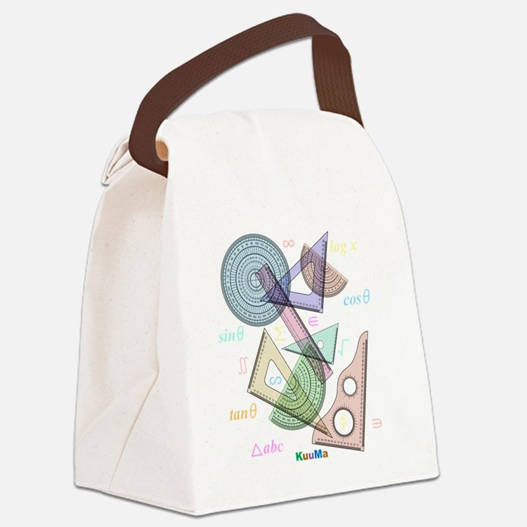 geometry Canvas Lunch Bag