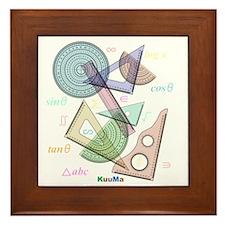 geometry Framed Tile