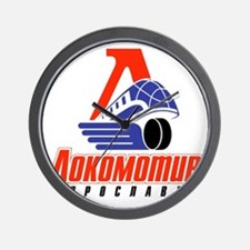 Lokomotiv Yaroslavl Wall Clock