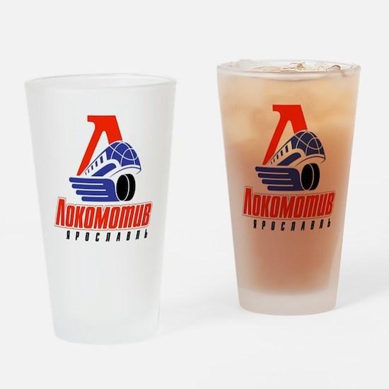 Lokomotiv Yaroslavl Drinking Glass