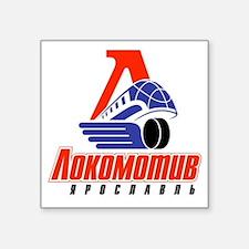 """Lokomotiv Yaroslavl Square Sticker 3"""" x 3"""""""
