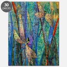 Colorful Dragonflies Puzzle