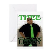 THEE Cody Leedy T Greeting Card