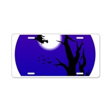 halloween2 Aluminum License Plate