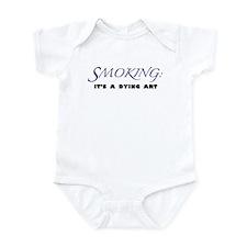 Unique Anti smoking Infant Bodysuit