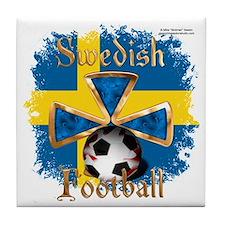 FootballSpice_Sweden Tile Coaster