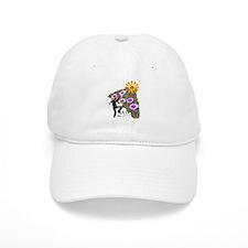 Young Girl Flower Climber Baseball Cap