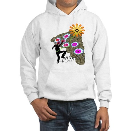 Young Girl Flower Climber Hooded Sweatshirt