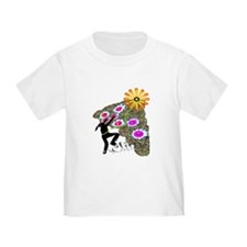 Young Girl Flower Climber T