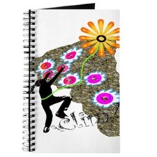 Young Girl Flower Climber Journal