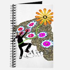 Young Girl Flower Climber Journal