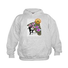 Young Girl Flower Climber Hoodie