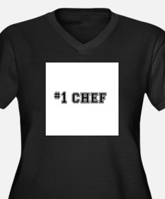#1 Chef Plus Size T-Shirt