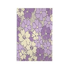purple flower nook Rectangle Magnet