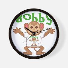 bobby-b-monkey Wall Clock