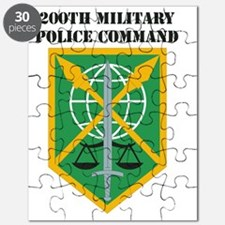 DUI -USARC-200TH MILITARY POLICE COMMAND  W Puzzle