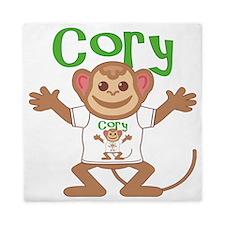cory-b-monkey Queen Duvet