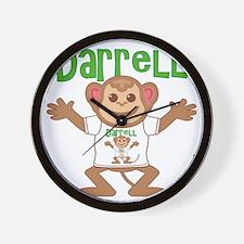 darrell-b-monkey Wall Clock