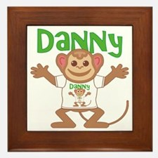 danny-b-monkey Framed Tile