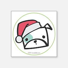 """bulldog_orn Square Sticker 3"""" x 3"""""""