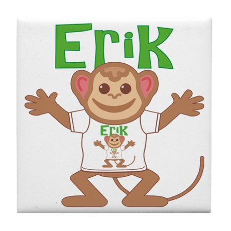 erik-b-monkey Tile Coaster