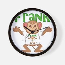 frank-b-monkey Wall Clock