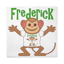 frederick-b-monkey Queen Duvet