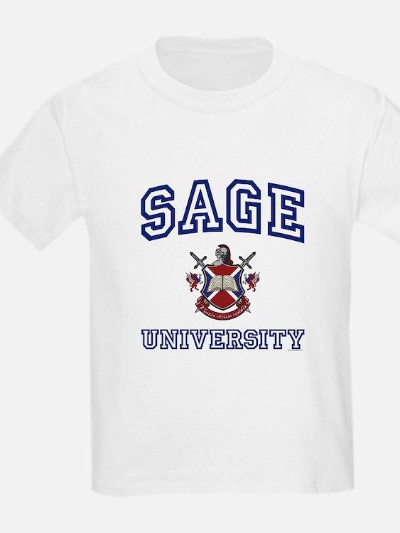 SAGE University Kids T-Shirt