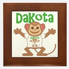dakota-b-monkey Framed Tile