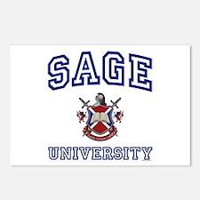SAGE University Postcards (Package of 8)