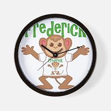 frederick-b-monkey Wall Clock